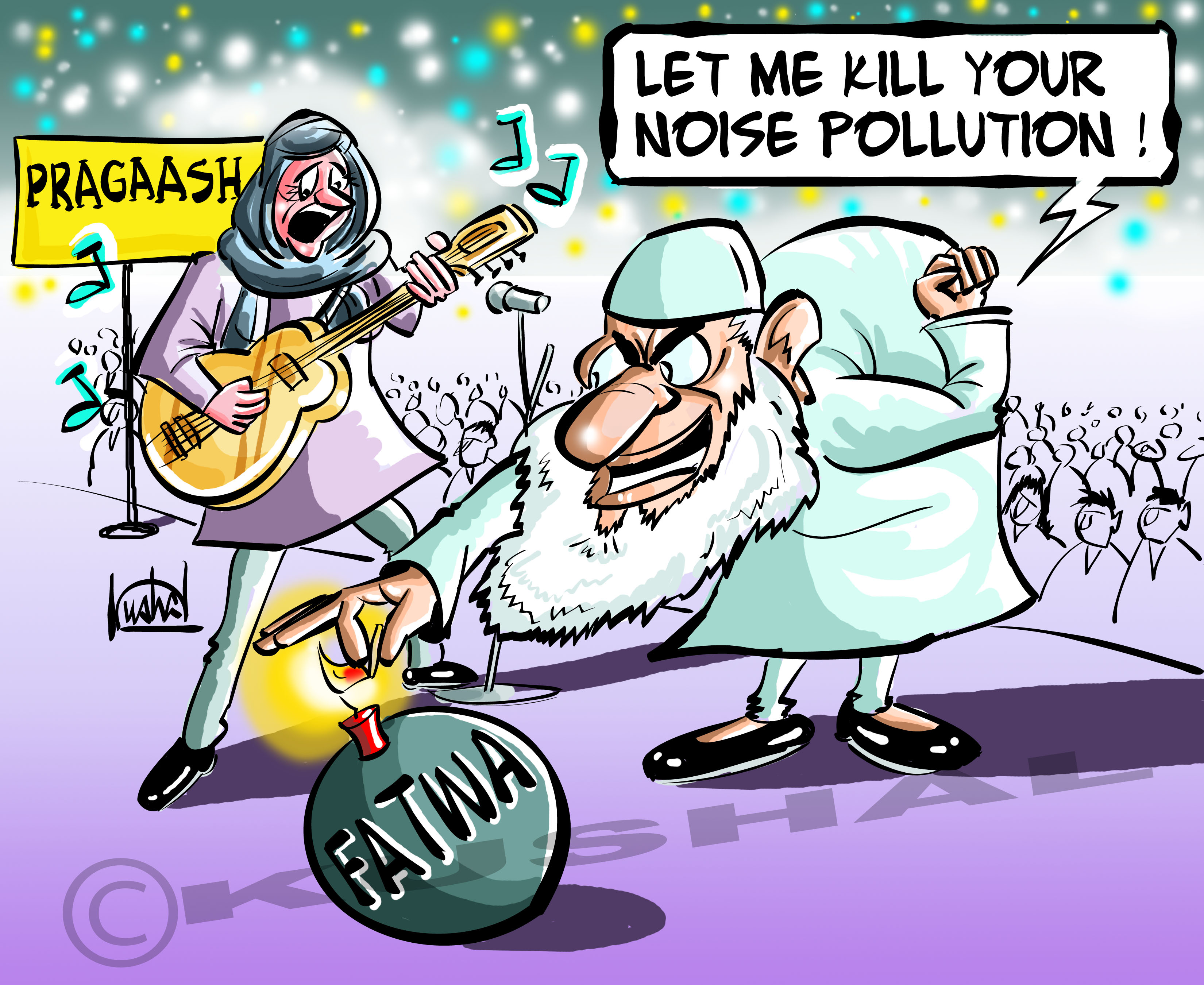 Sound pollution cartoon mania smile assured kushals noise pollution copy sciox Gallery