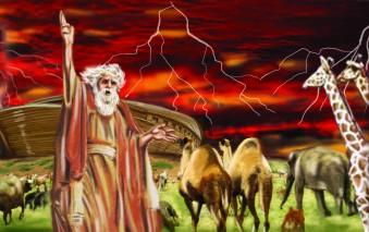 Animals Entering The Ark copy